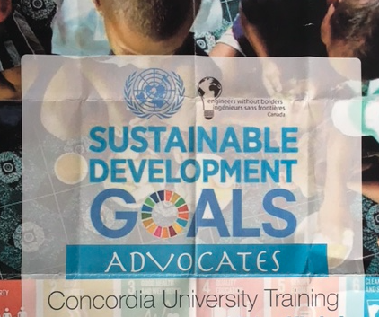 The Give Me 5 Campaign Goes to  Montreal Canada! SDG Youth Training at Concordia University