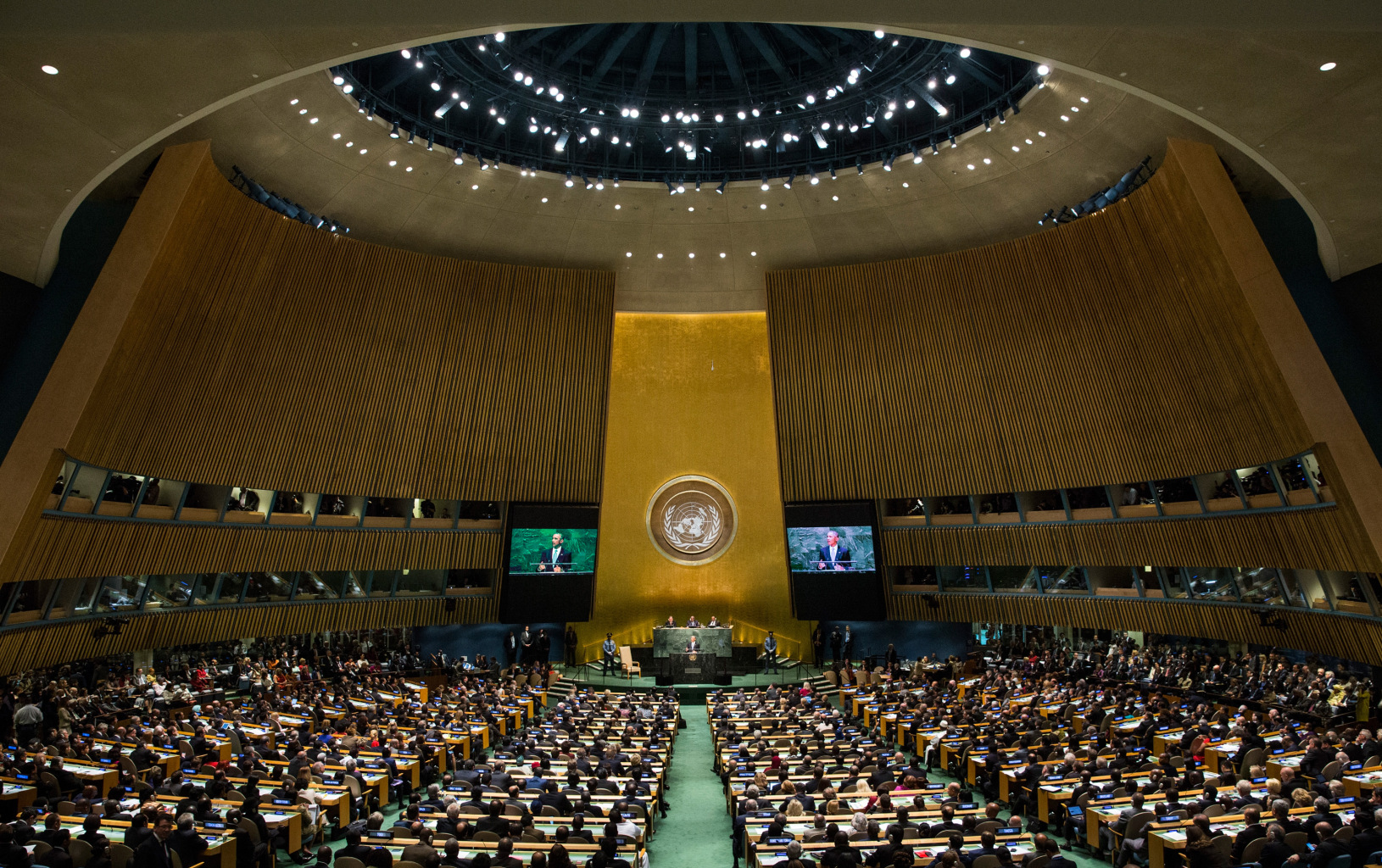 Give Me 5 at the UN General Assembly!